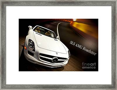 Mercedes Amg Roadster 01 Framed Print