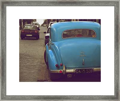 Mercedes Benz 170 D Framed Print by Odd Jeppesen