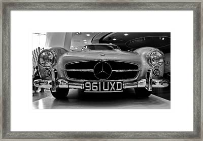 Framed Print featuring the photograph Mercedes Benz 300sl by Stephen Taylor