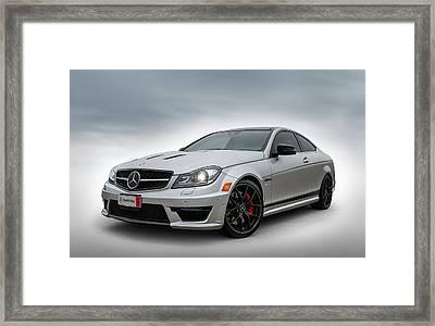 Mercedes Benz Amg C63 Edition 507 Framed Print