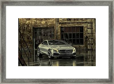 Mercedes Benz S Class Coupe 2013 Framed Print by Movie Poster Prints