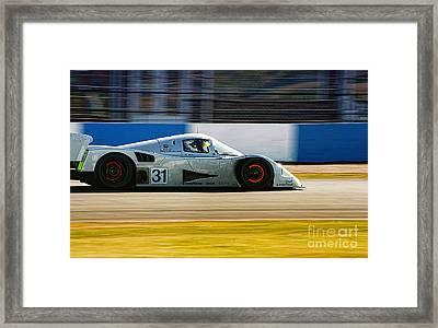 Mercedes C11 Framed Print by J A Evans