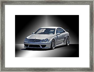 Mercedes Sports Coupe Framed Print by Dave Koontz