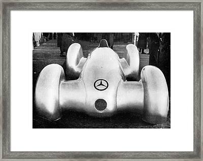 Mercedes W154 Racing Car Framed Print
