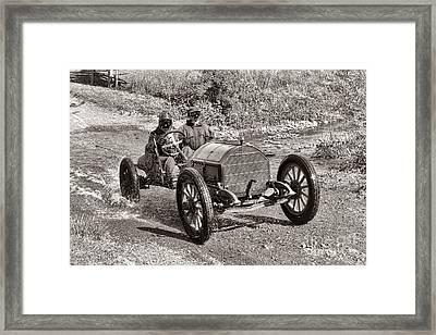 Mercer Raceabout Framed Print by Olivier Le Queinec