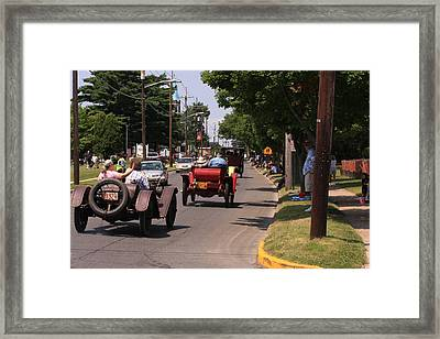 Mercers On Parade Framed Print