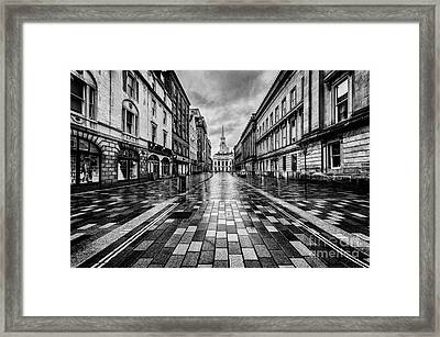 Merchant City Glasgow Framed Print by John Farnan
