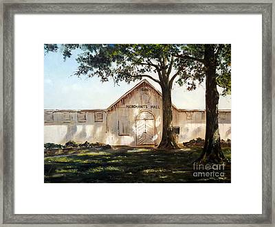 Merchants Hall Framed Print