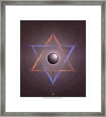 Mercuri Framed Print by Natanel Araeha