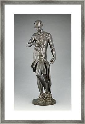 Mercury Alessandro Vittoria, Italian, 1525 - 1608 Trent Framed Print by Litz Collection