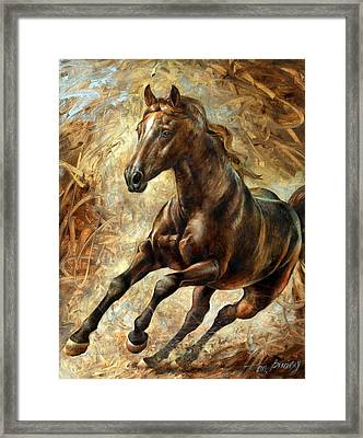 Mercury Framed Print by Arthur Braginsky