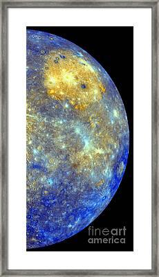 Mercury Color Mosaic Framed Print