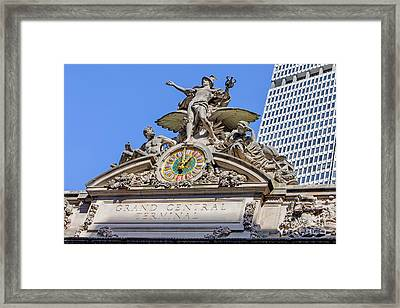 Mercury Mimerva And Hercules Framed Print by Jerry Fornarotto