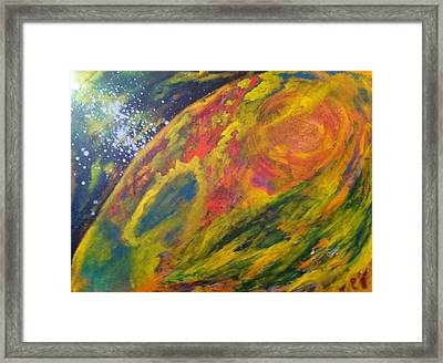 Mercury Retrograde Framed Print by Bebe Brookman
