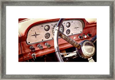 Framed Print featuring the photograph Mercury Truck by Trever Miller