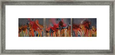 Mercy Is Falling Framed Print
