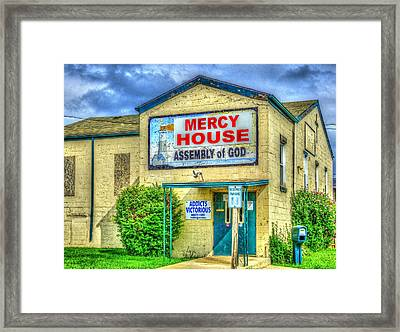 Mercy? Framed Print
