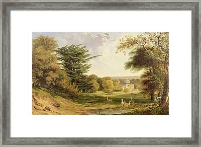 Mereworth Park, Kent Framed Print by John F. Tennant