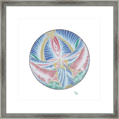 Merged Into A Whole Framed Print by Vanda Omejc