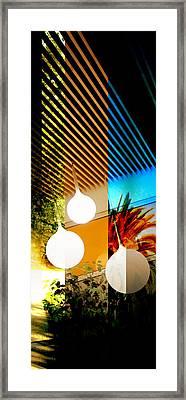 Merged - Slatted Framed Print by Jon Berry OsoPorto