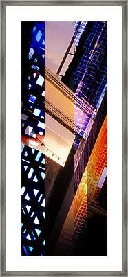 Merged - Tiled Framed Print by Jon Berry OsoPorto