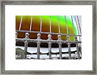 Merger Framed Print