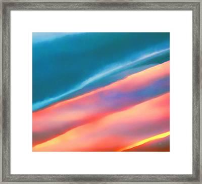 Merging Framed Print by Menega Sabidussi