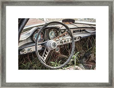 Merging With Nature Framed Print by Dale Kincaid