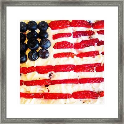 Merica!! #4th Of July #patriot #desert Framed Print