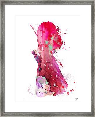 Merida Framed Print