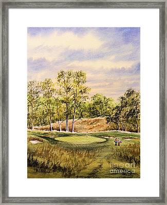 Merion Golf Club Framed Print by Bill Holkham