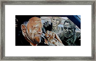 Merle's Last Stand Framed Print