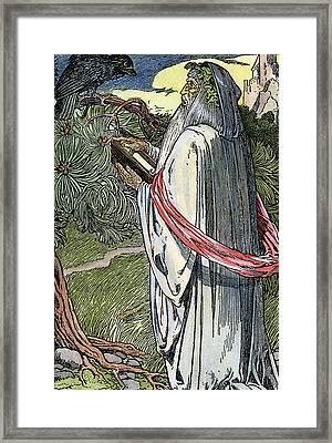 Merlin The Magician, 1923 Framed Print