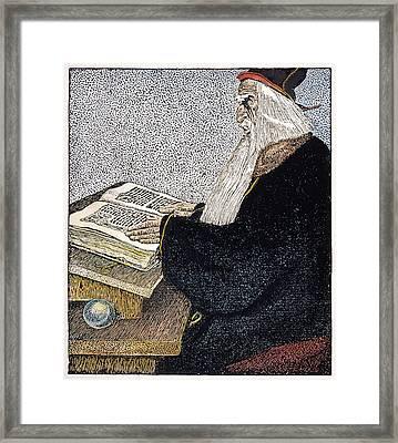 Merlin The Magician Framed Print