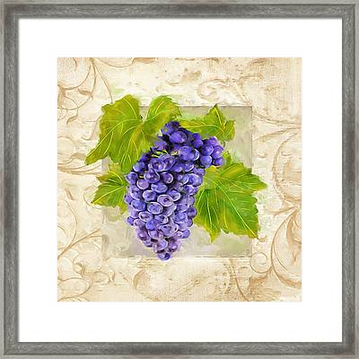 Merlot II Framed Print by Lourry Legarde