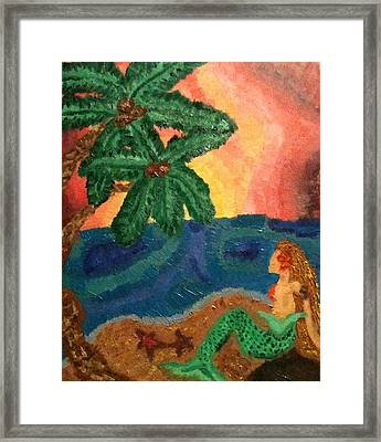 Mermaid Beach Framed Print by Oasis Tone