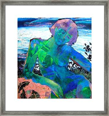 Mermaid Framed Print by Diane Fine