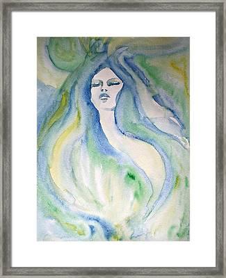 Mermaid Dream Framed Print by Alma Yamazaki