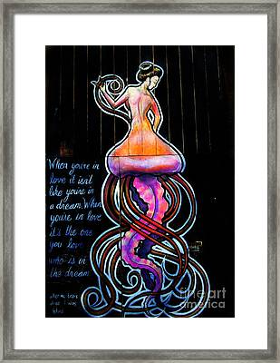 Mermaid Dream Framed Print by Colleen Kammerer