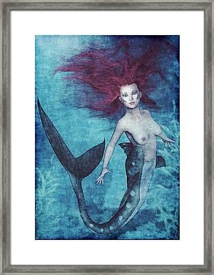 Mermaid Dreams Framed Print by Maynard Ellis