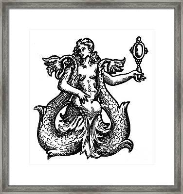 Mermaid, Legendary Creature Framed Print
