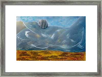 Framed Print featuring the photograph Mermaid by Lesley Fletcher