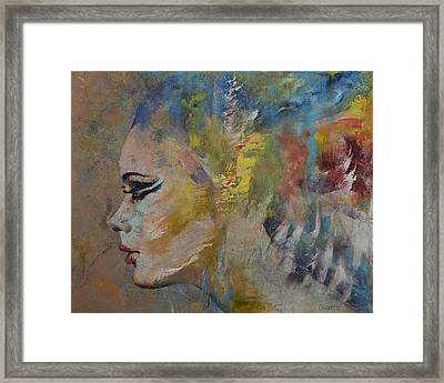 Mermaid Framed Print by Michael Creese