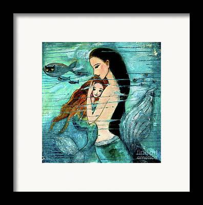 Mermaid Framed Prints