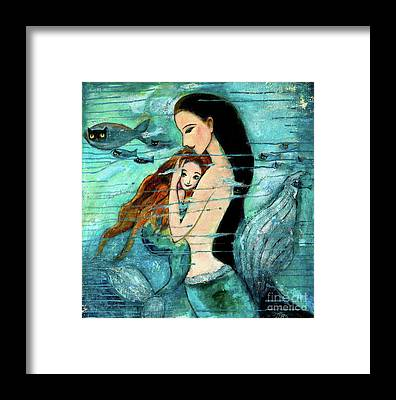 Mermaid Framed Prints