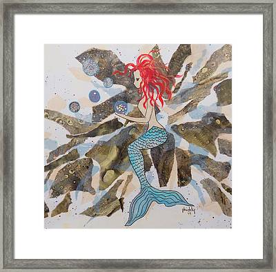Mermaid Framed Print