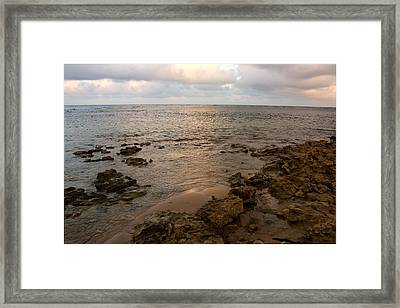 Mermaid Sanctuary Framed Print by Amanda Holmes Tzafrir
