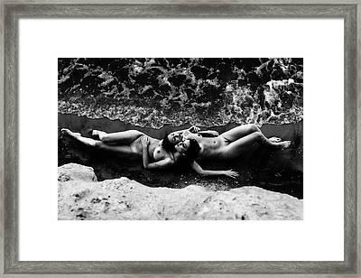 Mermaids II Framed Print