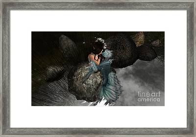 Mermaids Tail Framed Print