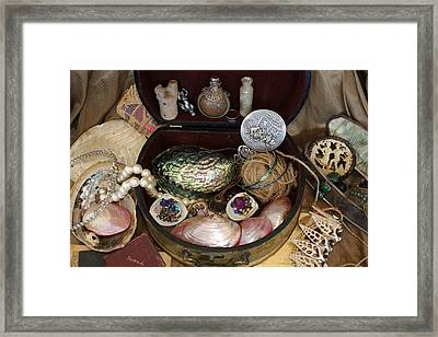 Mermaid's Treasure Framed Print